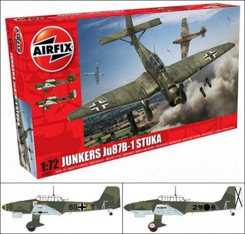 airfix-Ju87 B-1 Stuka